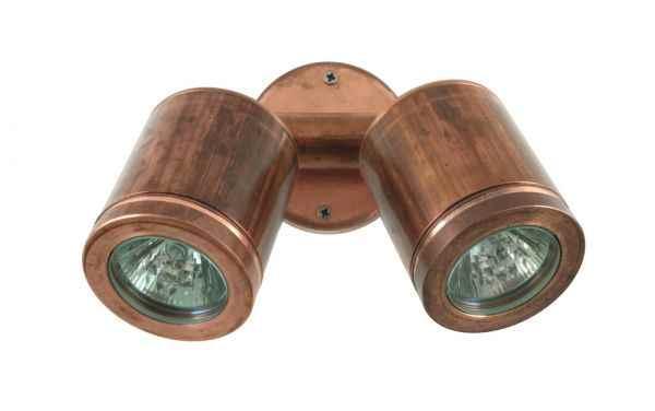 Kupfer Außen Wand Lampe Hunza Tin wall Spot light lifestyle