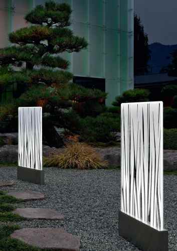 led au enleuchte imago acryl gartenleuchte flache scheibe. Black Bedroom Furniture Sets. Home Design Ideas