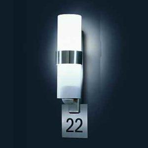 ip 44 custo control mit Hausnummerleuchte