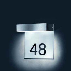 ip 44 Hausnummerleuchte modern
