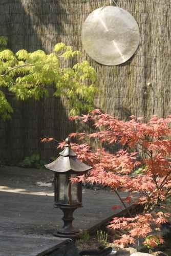 Japangarten Beleuchtung