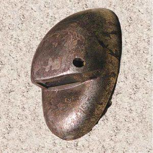 kleine Bronze Wandleuchte außen
