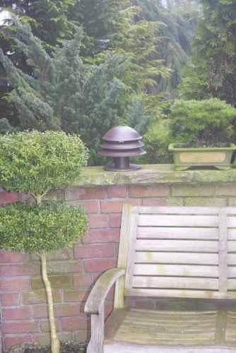 kleine Garten Sockelleuchte