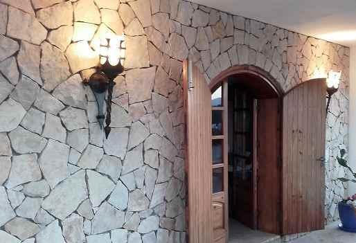 Wandfackel außen Sonderanfertigung
