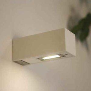 kleine  weiße Wandleuchte Power LED