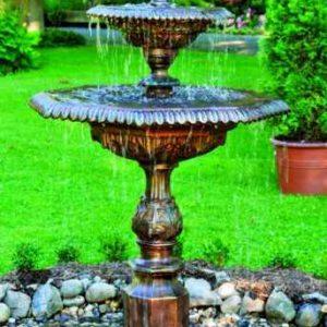 kleiner Garten Springbrunnen