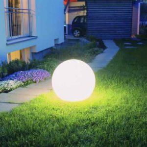 Kugellampe Garten