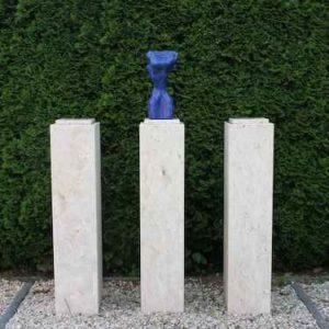 Kunst Skulptur Garten Torso