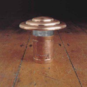 Kupfer Beetlampe Gartenlampe