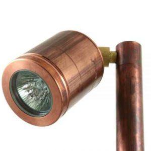 Kupfer Gartenspot Profi Design Beleuchtung