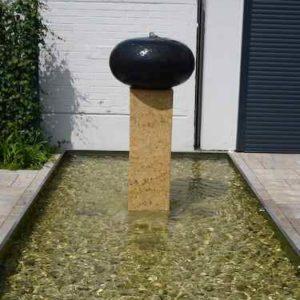 Meditationsbrunnen außen