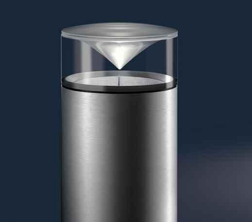 Innovative Designeuchte für außen mit LED Ivylight und großem Lichtkegel von IP44