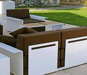 moderne Garten Loungemöbel