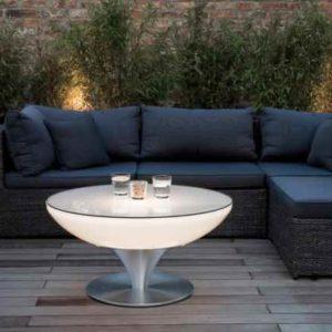 moderner Lounge-Tisch Terrasse