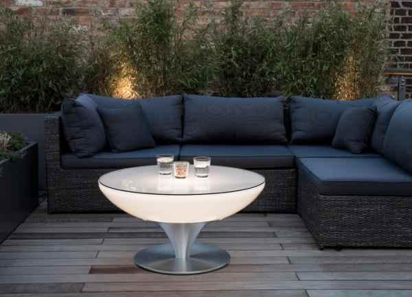 Lounge tisch f r terasse und garten for Design lounge tisch