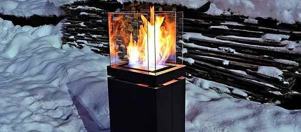 Für Garten und Terrasse, rauchfreie Ethanol Design Feuerstelle