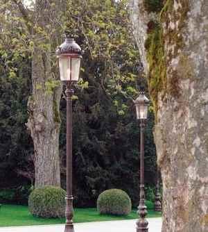 Park-Laterne für Parks und Gärten