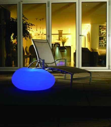 leuchtet f r drau en als tisch deko oder ablage boden garten. Black Bedroom Furniture Sets. Home Design Ideas