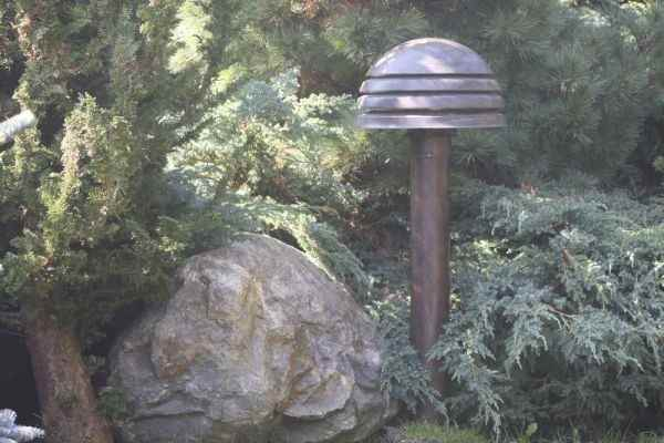 Pollerleuchte Garten Pilzform