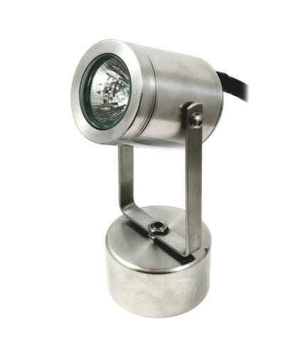 edelstahl unterwasserlampe schont folie licht unterwasserspot. Black Bedroom Furniture Sets. Home Design Ideas