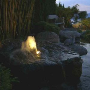 Quellstein Leuchte