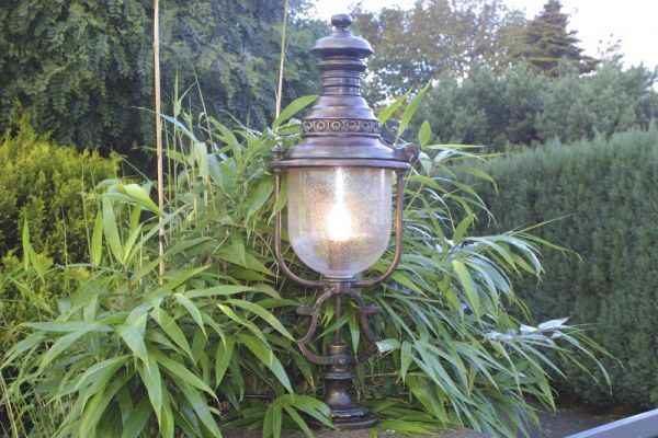Robers Gartenlampe AL 6317 patina