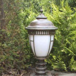 Sockellampe Garten