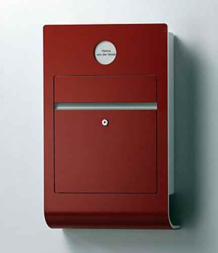 moderner intelligenter design briefkasten ral eingebaute sp. Black Bedroom Furniture Sets. Home Design Ideas