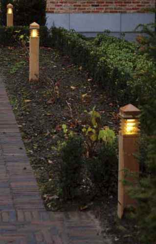 Royal Botania Holz Gartenleuchten