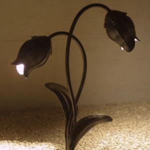 schmiedeeiserne Außenlampen
