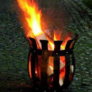 Schmiedeeiserner Feuerkorb