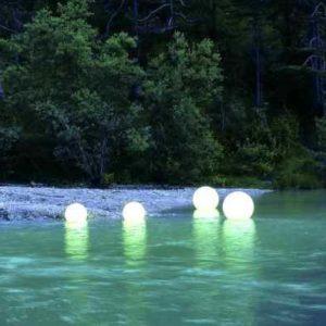 schwimmende Kugel Teichleuchten