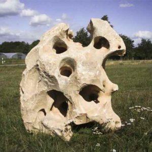 Skulptur Naturstein Garten