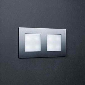 Steel LED Wandleuchte