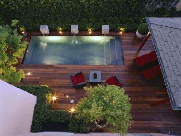 Terrasse stilvoll beleuchten