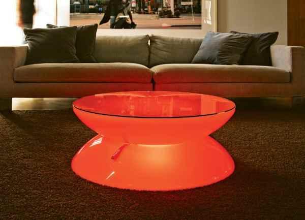 tisch lichtm bel mit akku leuchte und tisch zugleich. Black Bedroom Furniture Sets. Home Design Ideas