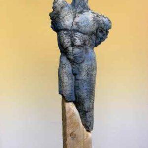 Torso Skulptur Garten