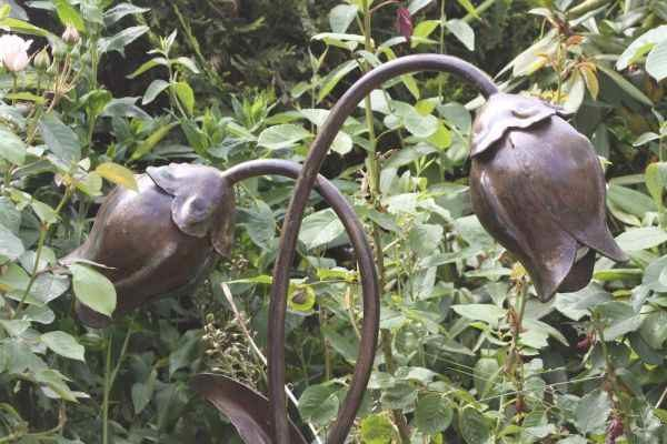 Tulpen Gartenlampe