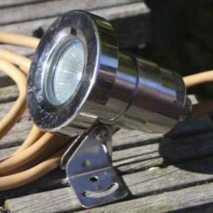 Unterwasserscheinwerfer 12 Volt 35 Watt Wibre