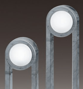 verzinkte Außenlampen