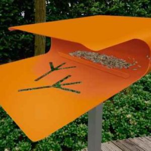 Vogelhaus Piepshow2 Radius Orange
