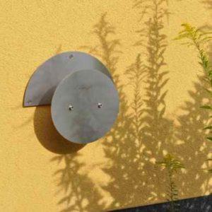 Wandhalter Gartenschlauch Edelstahl