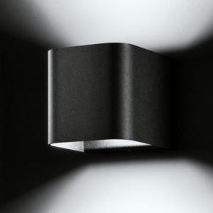 wandlampe außen schwarz modern