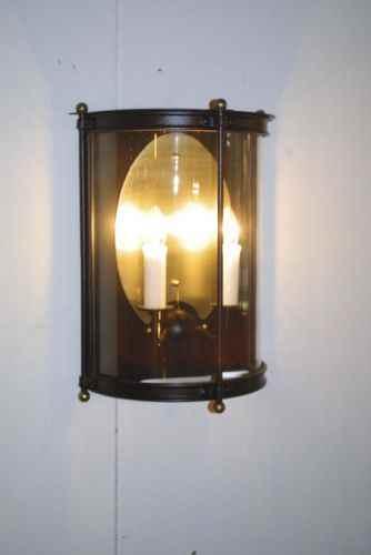 wandleuchte au en mit 2 kerzen als leuchte mit strom goldsch. Black Bedroom Furniture Sets. Home Design Ideas
