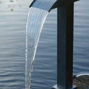 Wasserfall Dusche Teich