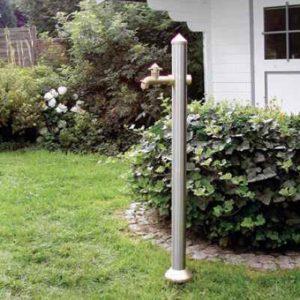 Wasserhahn Standsäule Garten