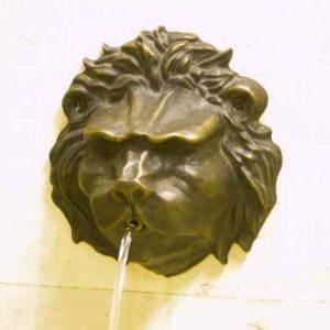 Wasserspeier Löwenkopf