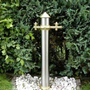 Wasserzapfsäule Garten