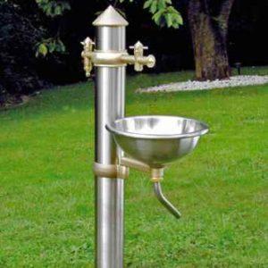 Wasserzapfsäule Garten Set