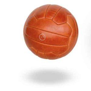 WM Fußball  Naturleder wie früher